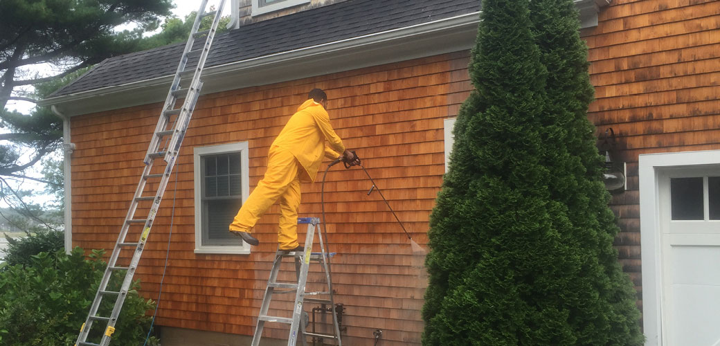 Pressure Washing and House Washing Your Cape Cod Home
